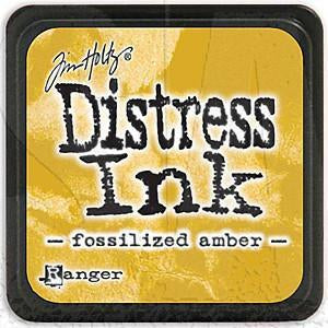Tim Holtz/Ranger - Distress Mini Ink Pad - Fossilized Amber