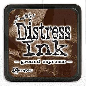 Tim Holtz/Ranger - Distress Mini Ink Pad Ground Espresso