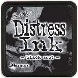 Tim Holtz Distress Mini Ink Pads Black Soot