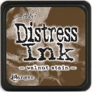 Tim Holtz Distress Mini Ink Pads Walnut Stain