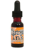 Tim Holtz Distress Ink Re-Inker .5Oz October-Carved Pumpkin