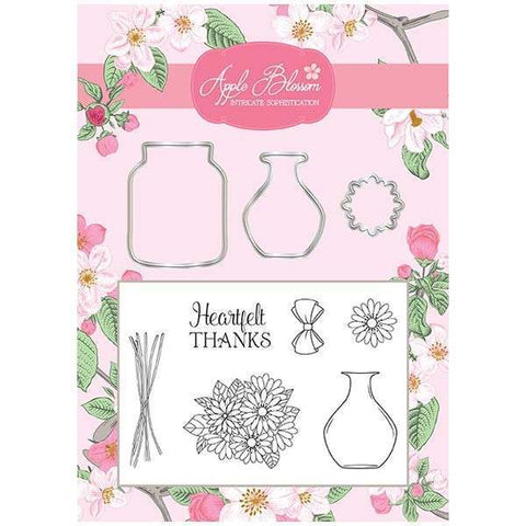 Apple Blossom Build It Collection - Bouquet Die & Stamp Set