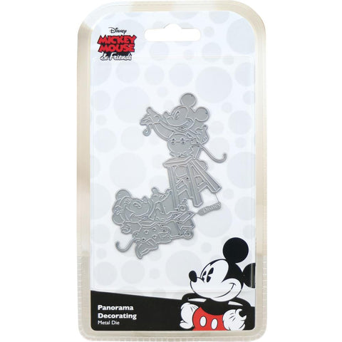 Disney Vintage Mickey Die Set Panorama Decorating