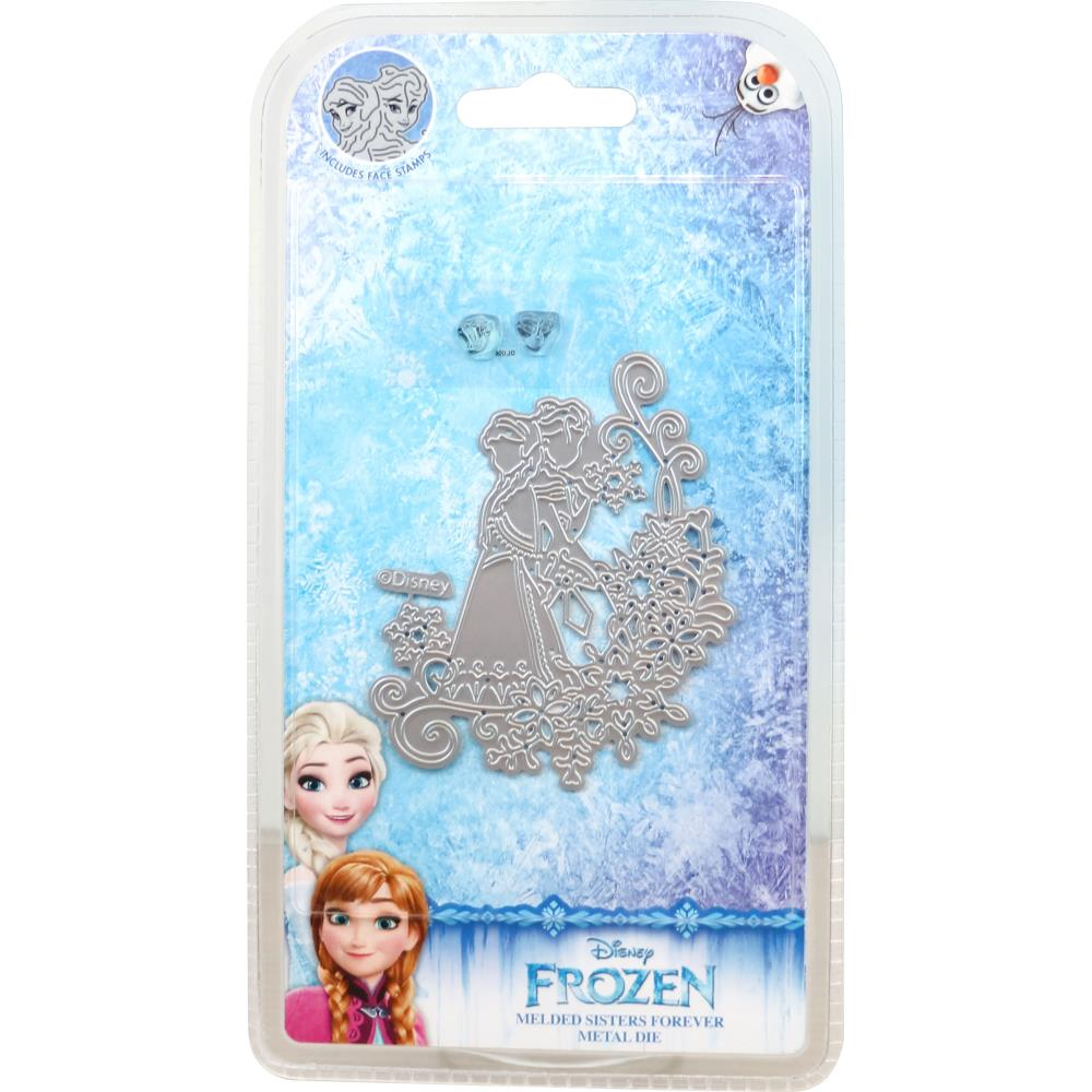 Disney Frozen Die And Face Stamp Set Melded Sisters Forever