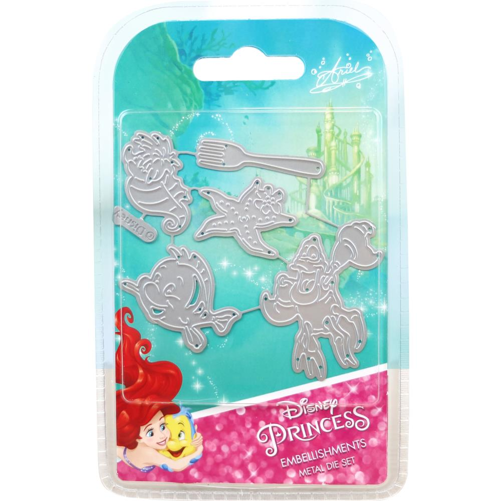 Disney Little Mermaid Embellishments Die Set Ariel