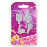 Disney Tangled Embellishments Die Set Rapunzel