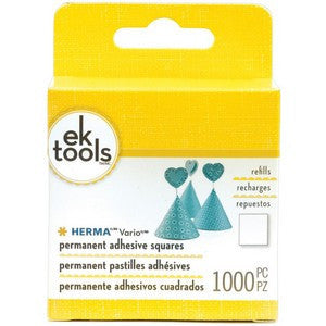 Ek Success  - Vario Adhesive Tab Refill Permanent 1000 Pack For Use In E5501074