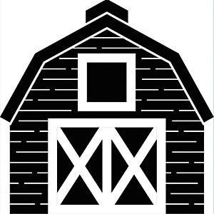Darice - Embossing Folder 4.25In.X5.75In. - Barn