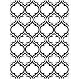 Darice - Embossing Folder 4.25In.X5.75In. - Quatrefoil Double