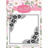 Apple Blossom - 12 Months of Flowers Collection - February Voilets Embossing Folder 6 x 6 inch