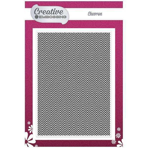 Creative Dies - Texture - Embossing Folder - Chevron