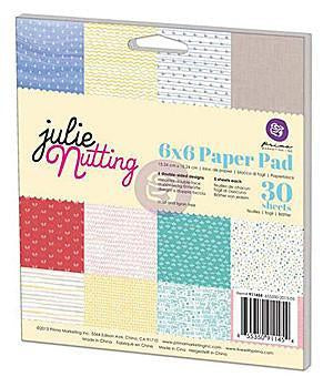 Prima Marketing Double-Sided Paper Pad 6 Inch X6 Inch  30 Pack  Julie Nutting Summer