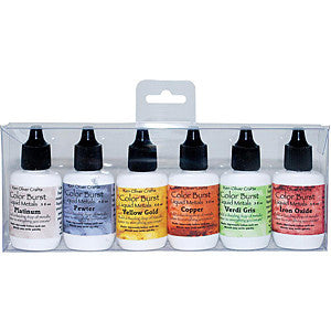 Ken Oliver Colour Burst Liquid Metal Assortment - Heavy Metals