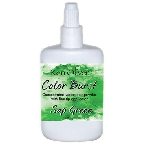 Ken Oliver Color Burst Powder 6gm Sap Green