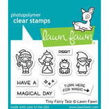 Lawn Fawn Clear Stamps 3in X 2in - Tiny Fairy Tale