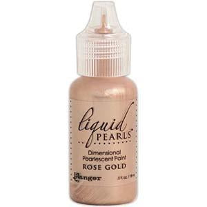 Ranger Liquid Pearls Glue - Gold Rose