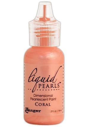 Ranger - Liquid Pearls Paint .5Oz - Coral