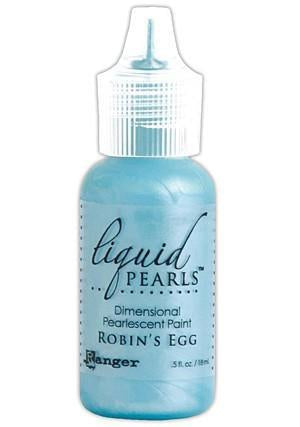Ranger - Liquid Pearls Paint .5Oz - Robin's Egg