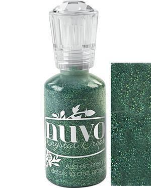 Nuvo Glitter Drops 1.1Oz - Emerald City