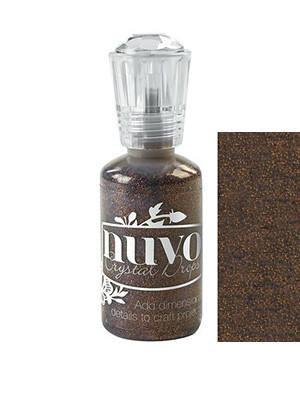 Nuvo Glitter Drops 1.1Oz - Chocolate Fondie
