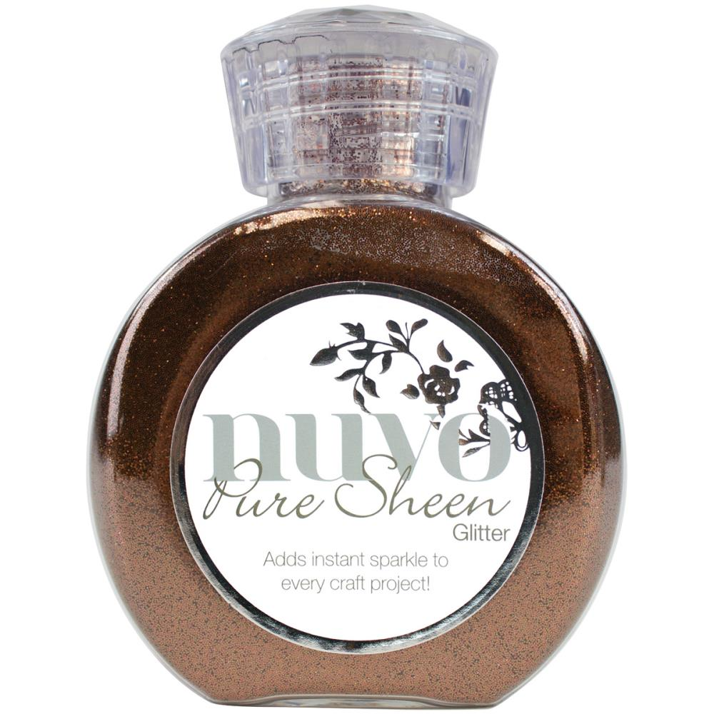 Nuvo Pure Sheen Glitter 3.38oz - Copper