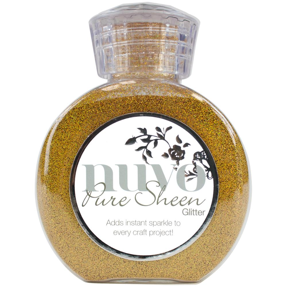 Nuvo Pure Sheen Glitter 3.38oz - Gold