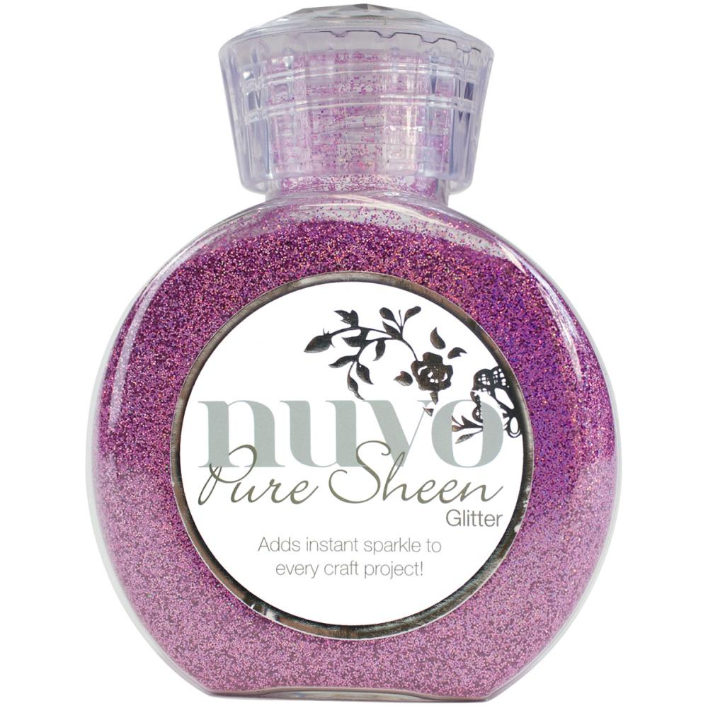 Nuvo Pure Sheen Glitter 3.38oz - Hot Pink