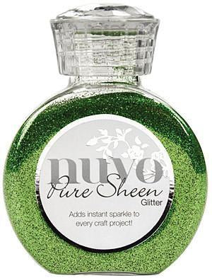 Tonic Studios - Nuvo Pure Sheen Glitter 3.38Oz - Green Meadow