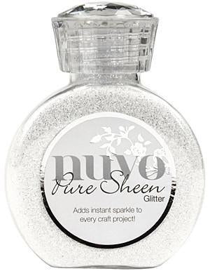 Tonic Studios - Nuvo Pure Sheen Glitter 3.38Oz - Ice White