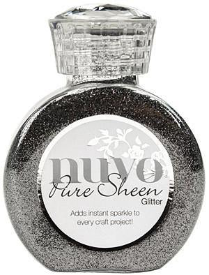 Tonic Studios - Nuvo Pure Sheen Glitter 3.38Oz - Steel Grey