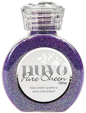 Tonic Studios - Nuvo Pure Sheen Glitter 3.38Oz - Violet Infusion