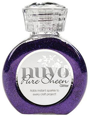Tonic Studios - Nuvo Pure Sheen Glitter 3.38Oz - Purple Organza