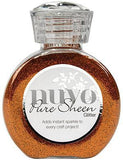 Tonic Studios - Nuvo Pure Sheen Glitter 3.38Oz - Spiced Apricot