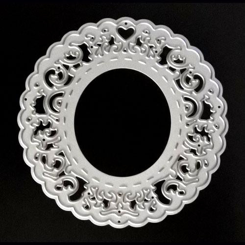 Poppy Crafts Dies - Lace Circle Die Design