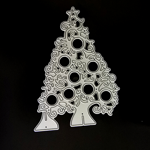 Poppy Crafts Dies - Christmas Tree #3 Die Design