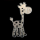 Poppy Crafts - Fun Giraffe Die Design