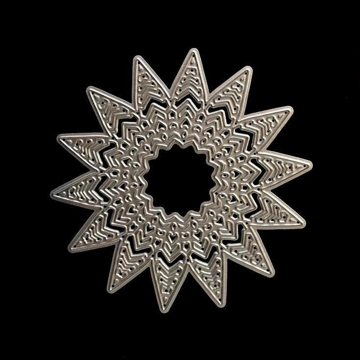 Poppy Crafts - Star Doily #6 Die Design