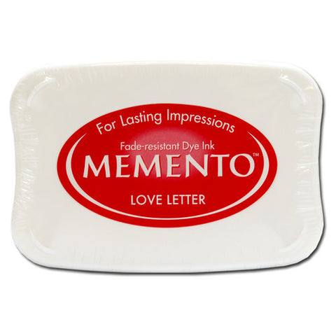 Memento Ink Pad - Love Letter
