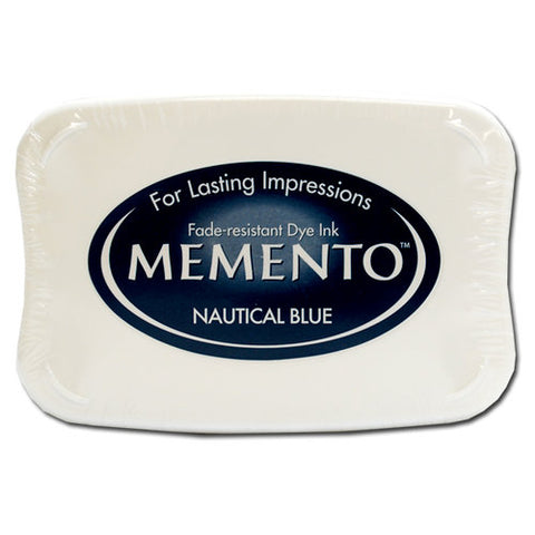 Memento Ink Pad - Nautical Blue