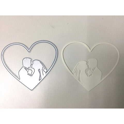 Poppy Crafts Dies - Lovers Heart Die Design