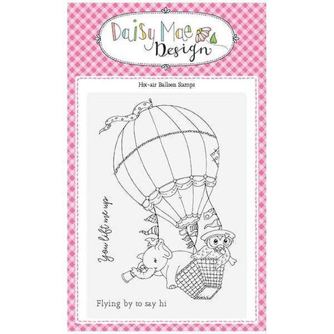 Daisy Mae Designs A6 Stamp Set - Hot-Air Balloon - Set of 3 Stamps