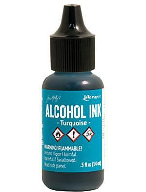 Ranger - Tim Holtz Alcohol Ink .5Oz - Turquoise