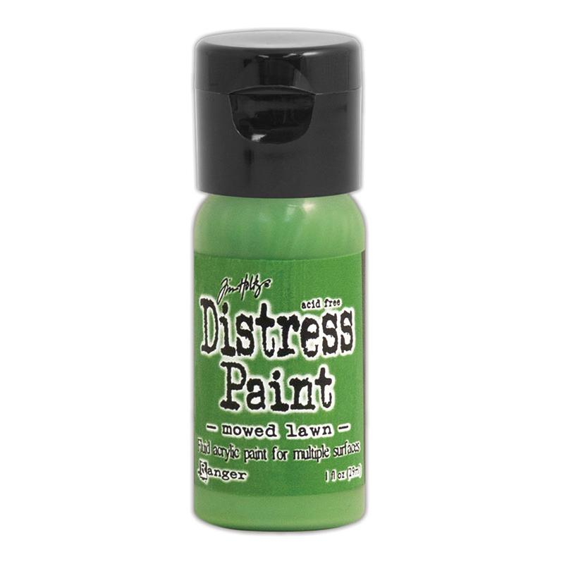 Tim Holtz Distress Paint Flip Top 1oz - Mowed Lawn