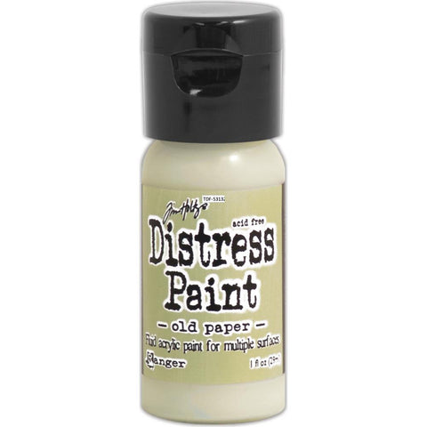 Tim Holtz Distress Paint Flip Top 1oz - Old Paper