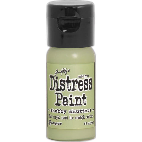 Tim Holtz Distress Paint Flip Top 1oz - Shabby Shutters