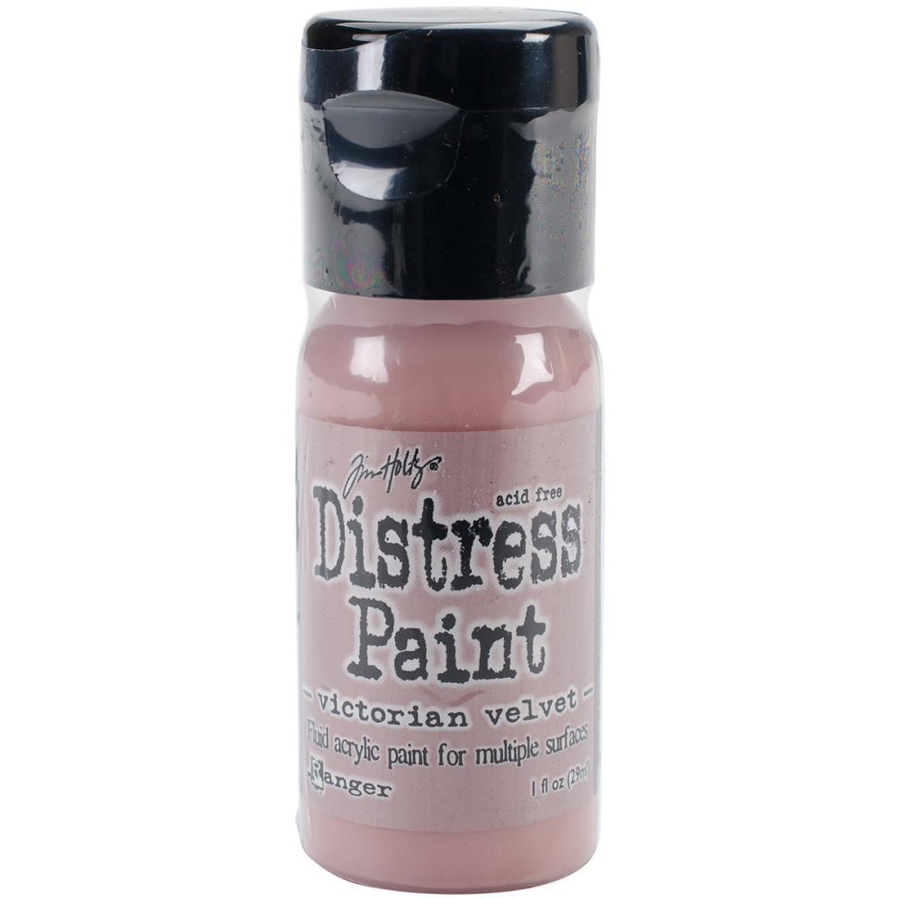 Tim Holtz Distress Paint Flip Top 1oz - Victorian Velvet