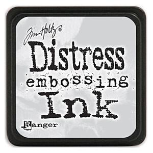 Tim Holtz Distress Clear Embossing Ink - 1In.X1in. Stackable