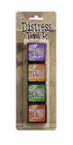 Tim Holtz/Ranger - Distress Mini Ink Pads 4 Pack - Kit 15