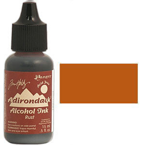 Adirondack Alcohol Ink .5 Ounce -  Earthtones - Rust