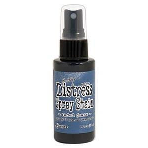 Tim Holtz Distress Spray Stains 1.9Oz Bottles - Faded Jeans